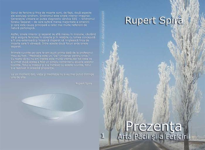 """Fragmentul de azi: """"Scopul final al activităţilor corpului şi ale minţii este găsireafericirii sau, dacă suntem căutători spirituali, găsirea iluminării,ceea ce este cam acelaşi lucru.""""  Rupert Spira"""